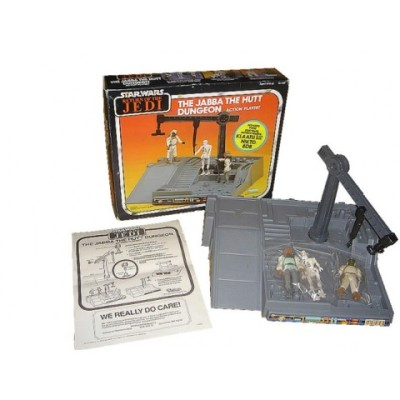 Kenner's Jabba the Hutt Dungeon Playset