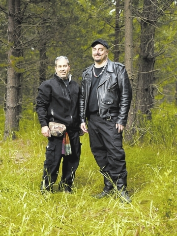 Rictor Riolo and Dax Rushlow of The Ten Million Dollar Bigfoot Bounty