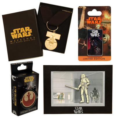 Star Wars Weekends pins