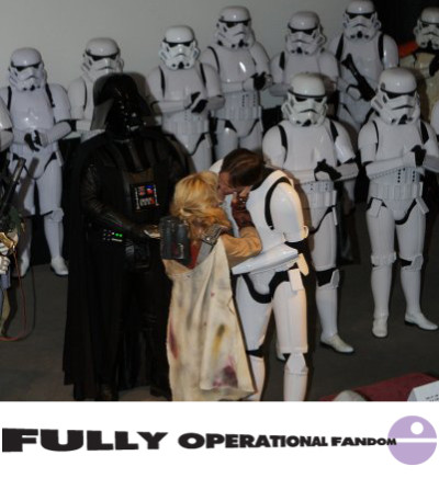 Star Wars fan wedding