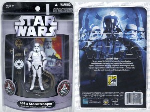 Star Wars 501st Legion Stormtrooper action figure from San Diego Comic-Con
