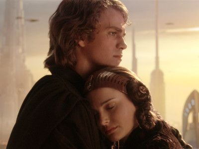 Anakin Skywalker and Padmé Amidala in Revenge of the Sith - a classic Star Wars couple