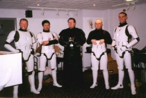 501st UK members backstage