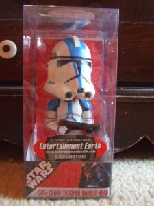 Star Wars 501st clone trooper bobblehead