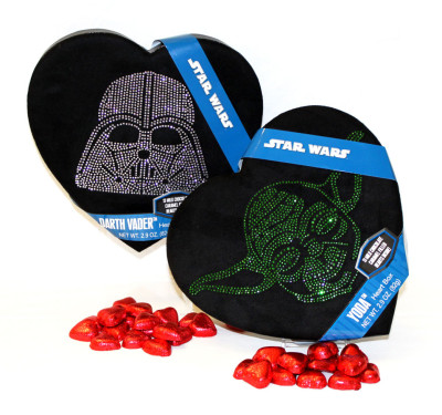 Star Wars Valentine's Day chocolates