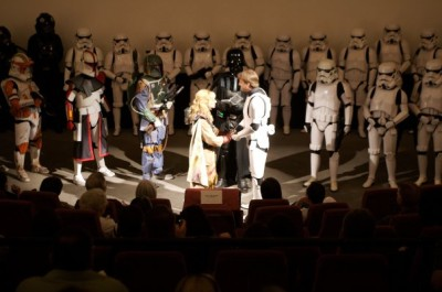 Star Wars wedding ceremony