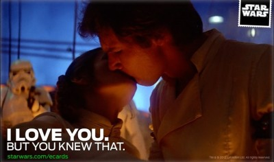 Star Wars Valentine's Day eCard
