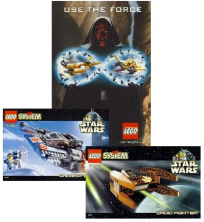 LEGO Star Wars toys from 1999