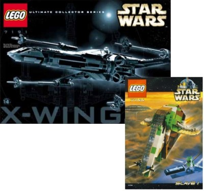 LEGO X-wing from the Ultimate Collectors Series