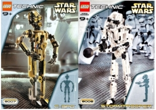 LEGO Star Wars Technic C-3PO and Stormtrooper