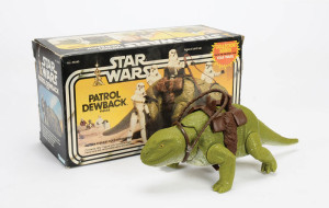 Star Wars Patrol Dewback toy from Kenner