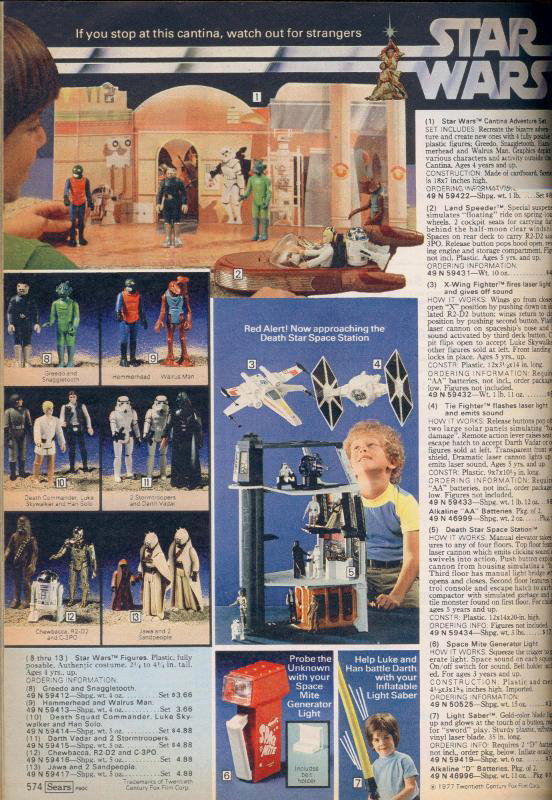 The Sears Wish Book and Star Wars Toys' Real Value