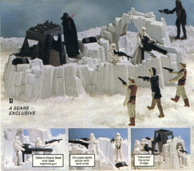 Sears Wish Book The Empire Strikes Back Hoth playset