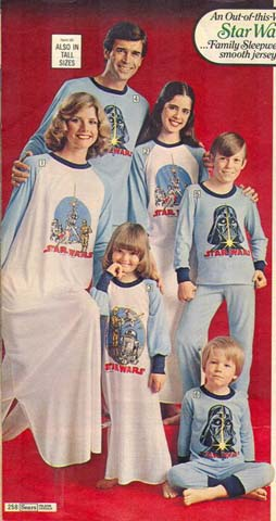 Sears Wish Book Catalog - Star Wars pajamas