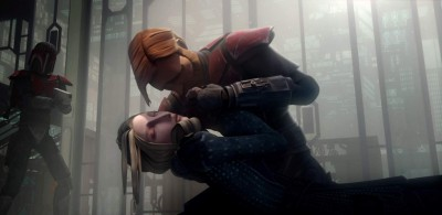 Satine Kryze and Obi-Wan
