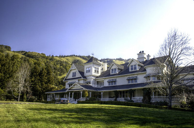 The Skywalker Ranch Main House - win a visit and meet George Lucas in Omaze's new contest