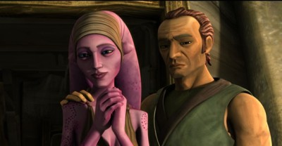 Suu and Cut from Star Wars: The Clone Wars