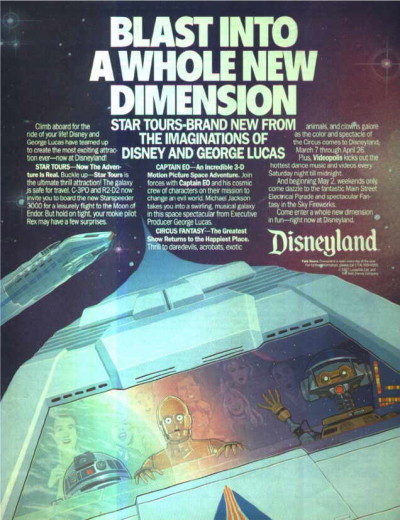 Star Tours ad