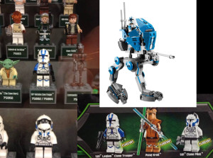 LEGO Star Wars 501st figures