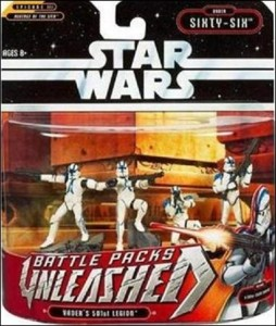 Star Wars Unleashed Battle Pack - Vader's 501st Legion