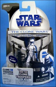 Star Wars: The Clone Wars 501st figure