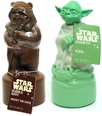 Wicket Bubble Bath and Yoda Shampoo