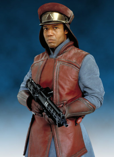 Captain Panaka, Queen Amidala's security in The Phantom Menace