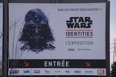 Star Wars Identities Darth Vader poster