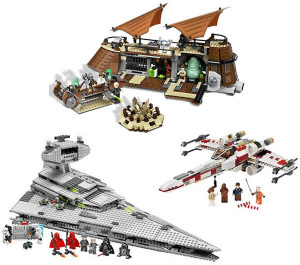 LEGO Star Wars vehicles