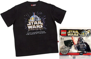 LEGO Star Wars polybags with Darth Vader