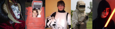 Kids Star Wars costumes - The Galactic Academy