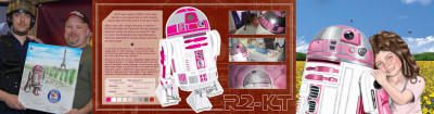 R2-KT Star Wars art