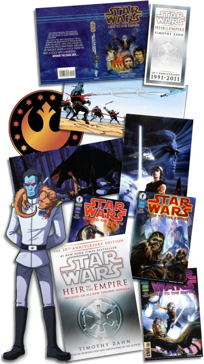 Star Wars: Heir to the Empire books