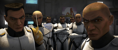 Clone troopers in Star Wars: The Clone Wars
