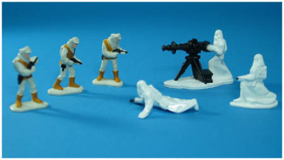 Kenner's Star Wars Micro Collection Build Your Armies set.