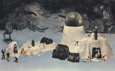 Kenner's Star Wars Micro Collection Hoth World playset
