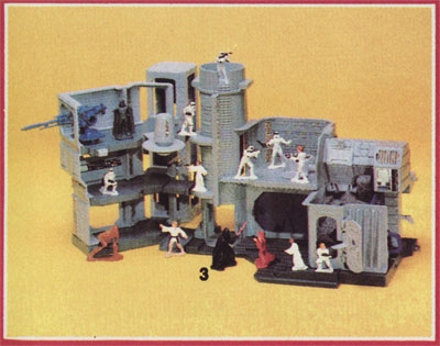 Kenner's Star Wars Micro Collection Death Star World playset