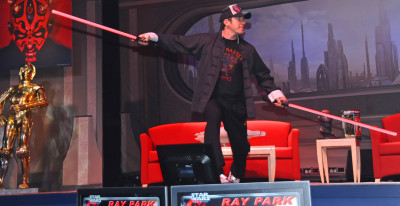 Ray Park, a.k.a. Darth Maul, at Star Wars Weekends