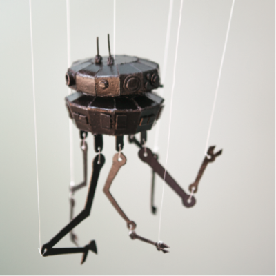 Star Wars Day Craft: Imperial Probe Droid Marionette