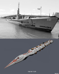 Submarines and stealth ships in Star Wars: The Clone Wars