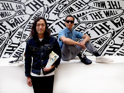 Calvin Garcia and Taka Hayashi with Vans x Star Wars
