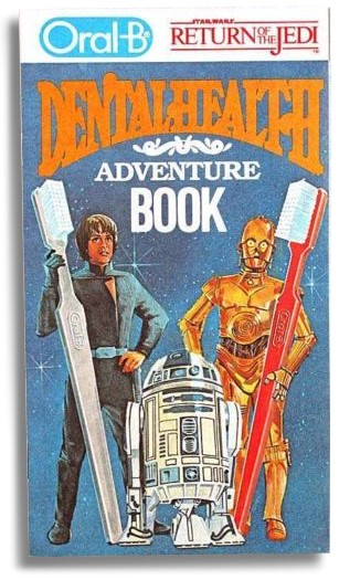 Oral B's Return of the Jedi Dental Health Adventure Booklet