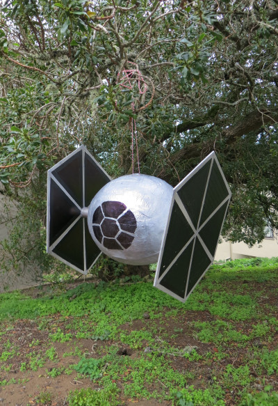 TIE fighter pinata