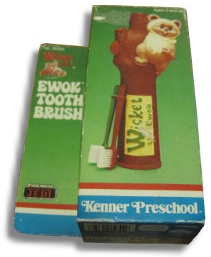 Ewok/Wicket electric toothbrush