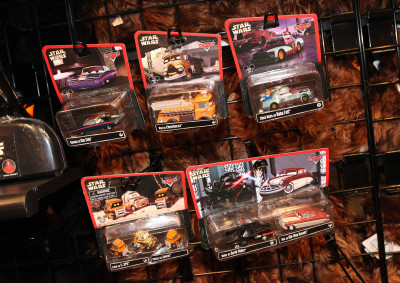 Star Wars Weekends 2014 Darth's Mall - Disney-Pixar's Cars as Star Wars toys