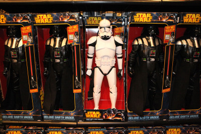 Star Wars Weekends 2014 Darth's Mall - Clone trooper giant toy