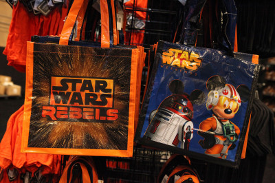 Star Wars Weekends 2014 Darth's Mall - Star Wars Rebels totes
