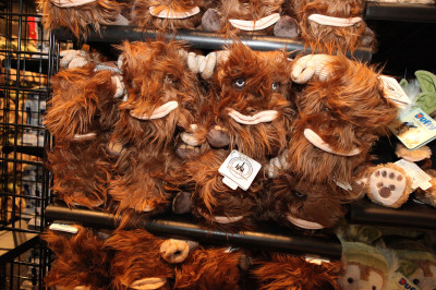 Star Wars Weekends 2014 Darth's Mall - Bantha plushies