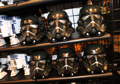 Star Wars Weekends 2014 Darth's Mall - Dark Trooper helmet