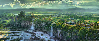Naboo from Star Wars: Episode I The Phantom Menace